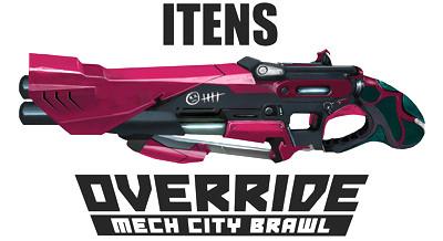 Override Mech City Brawl - Itens