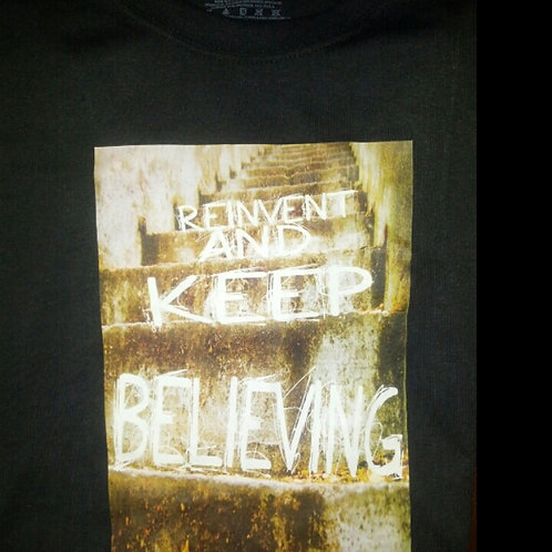 Reinvent and Keep Believing