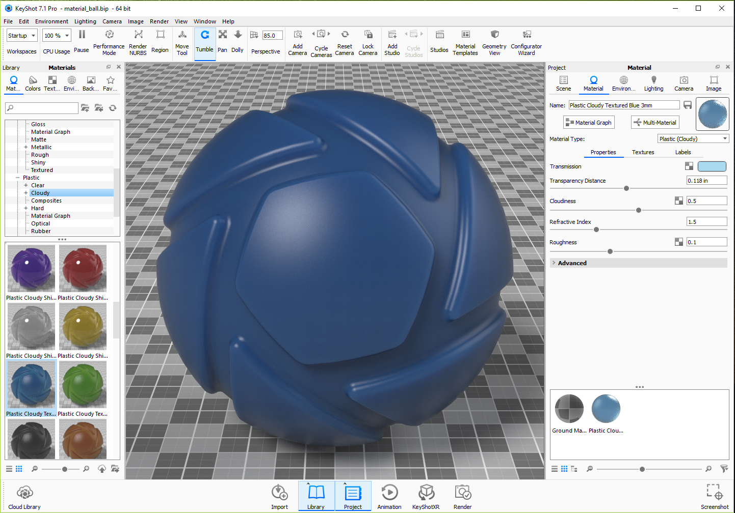 Material Ball
