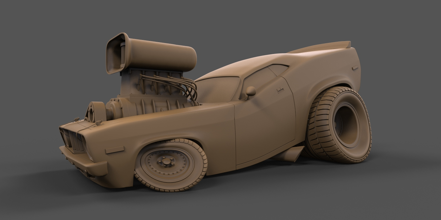 Cuda Clay Version
