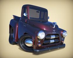 1954 Dodge Blackcherry