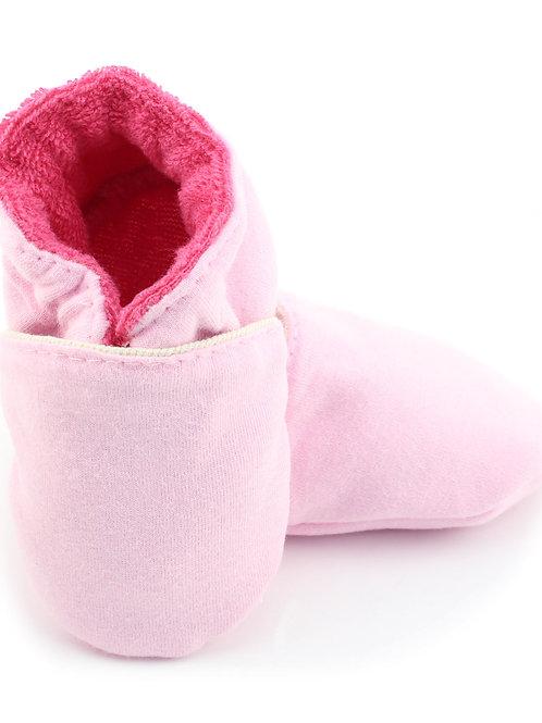 Sapatinho de Bebe Rosa Bebê, Oogie by Yandoo