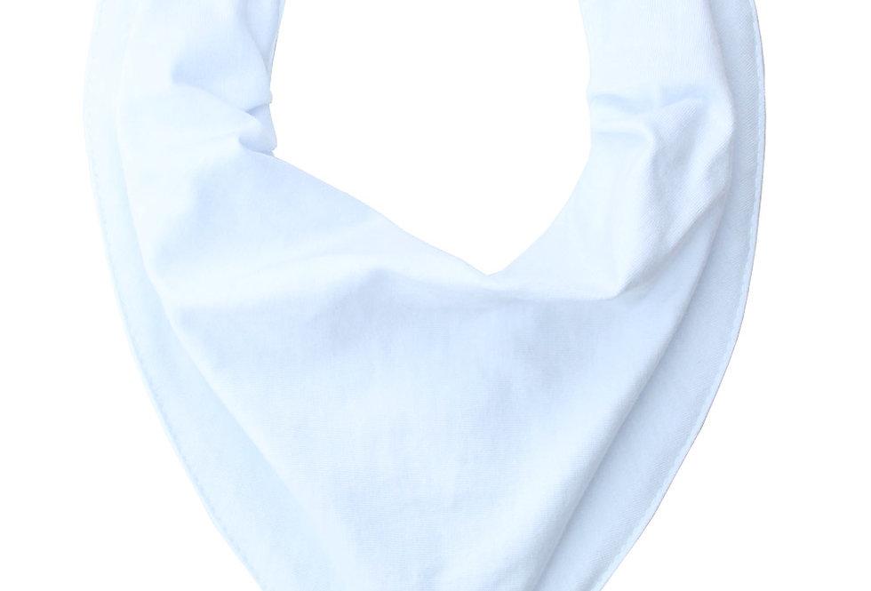 Babador Bandana Forro Impermeavel, Branco, Oogie