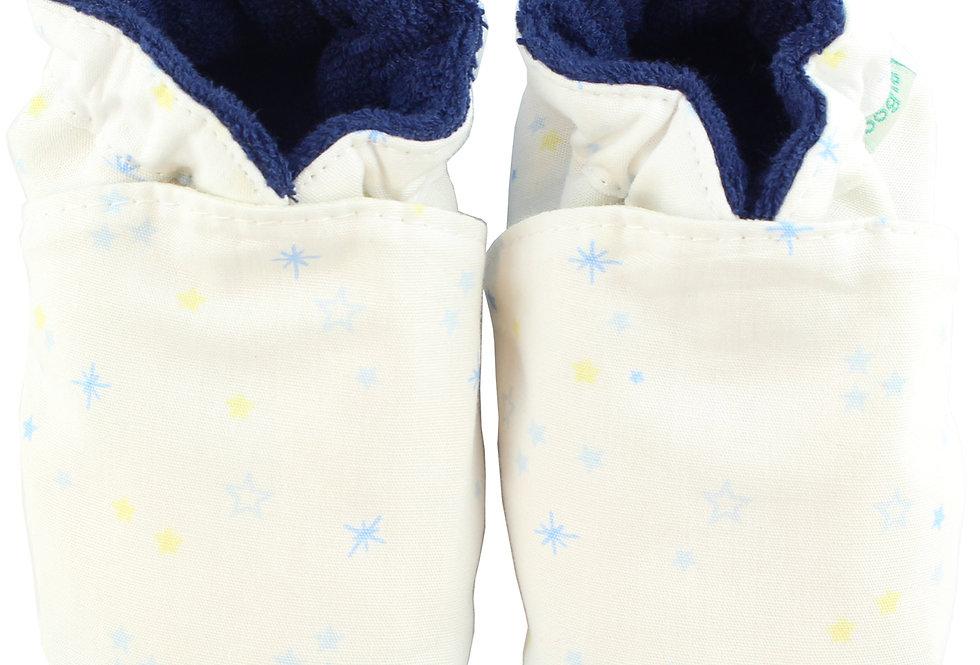 Sapatinho de Bebe Little Star Azul, Oogie by Yandoo