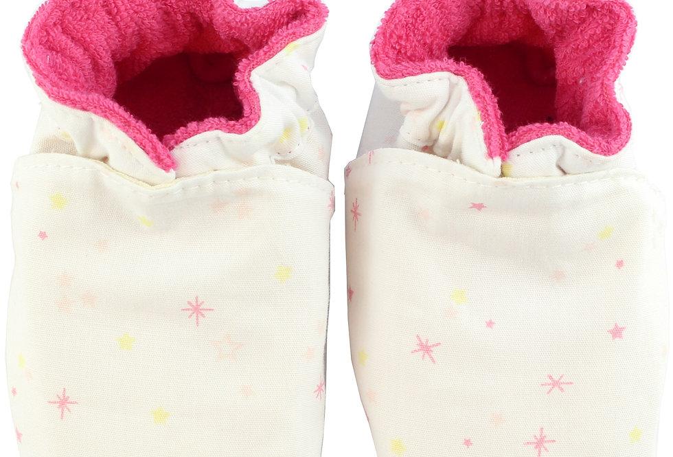 Sapatinho de Bebe Little Star Rosa, Oogie by Yandoo