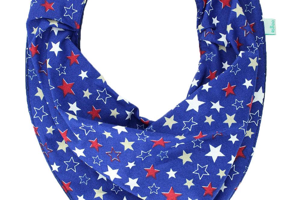 Babador Bandana Star Azul