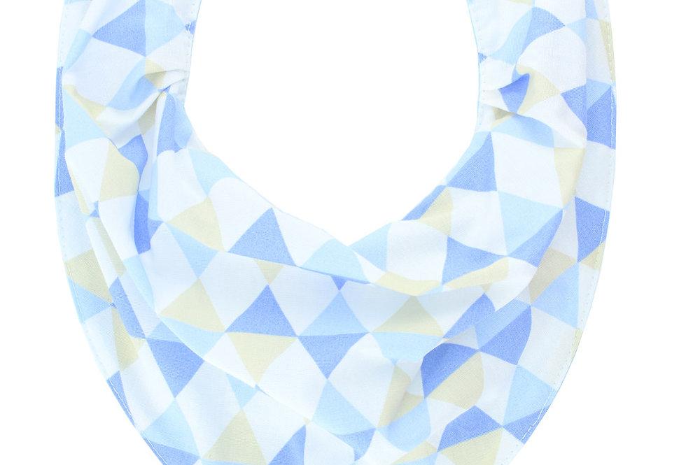 Babador Bandana Argyle Azul