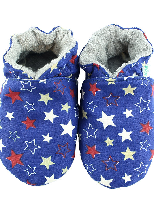 Sapatinho de Bebe Star Azul, Oogie by Yandoo