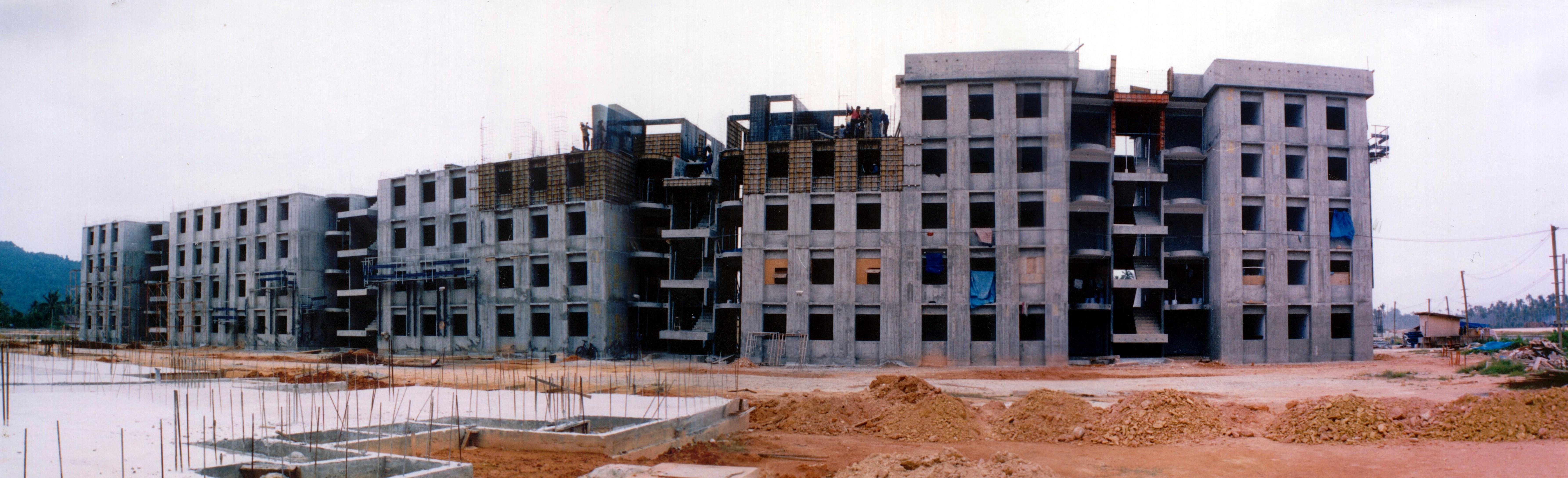 Molde para vivienda vertical