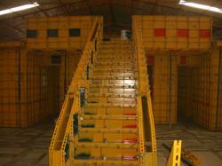 Molde para escalera de concreto