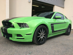 Mustang kit déco