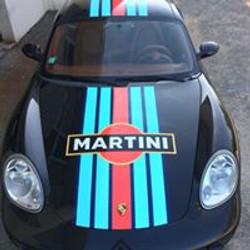 Porsche Cayman Kit déco