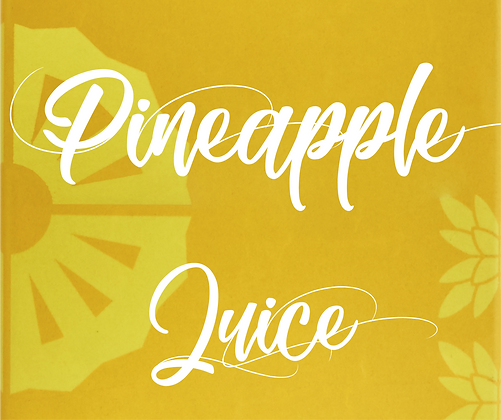 Pineapple Nectar Juice 5l
