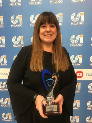 Simona Pajesi è Campione nella Vita