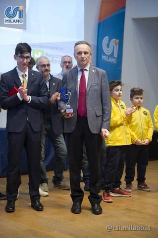 """A Sergio Ricci il premio """"Campioni nella Vita"""""""