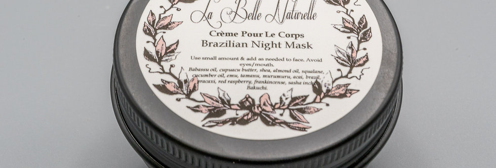 Brazilian Face Butter - Night Mask