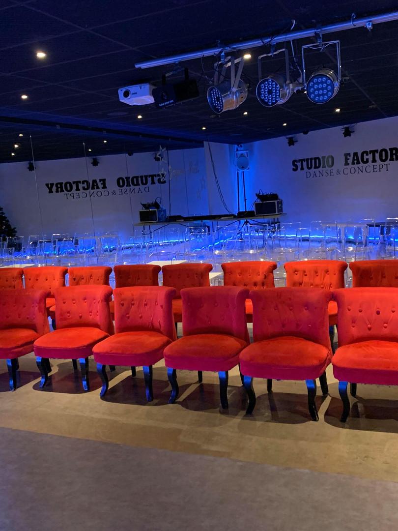 Salle Studio Factory