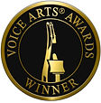 Voice Arts Award winner