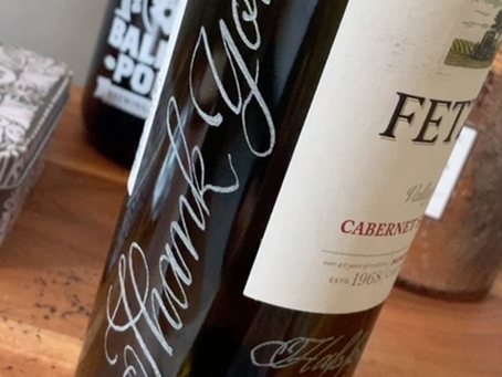 4 Easy to Follow Glass Engraving Tips for Wine Bottles