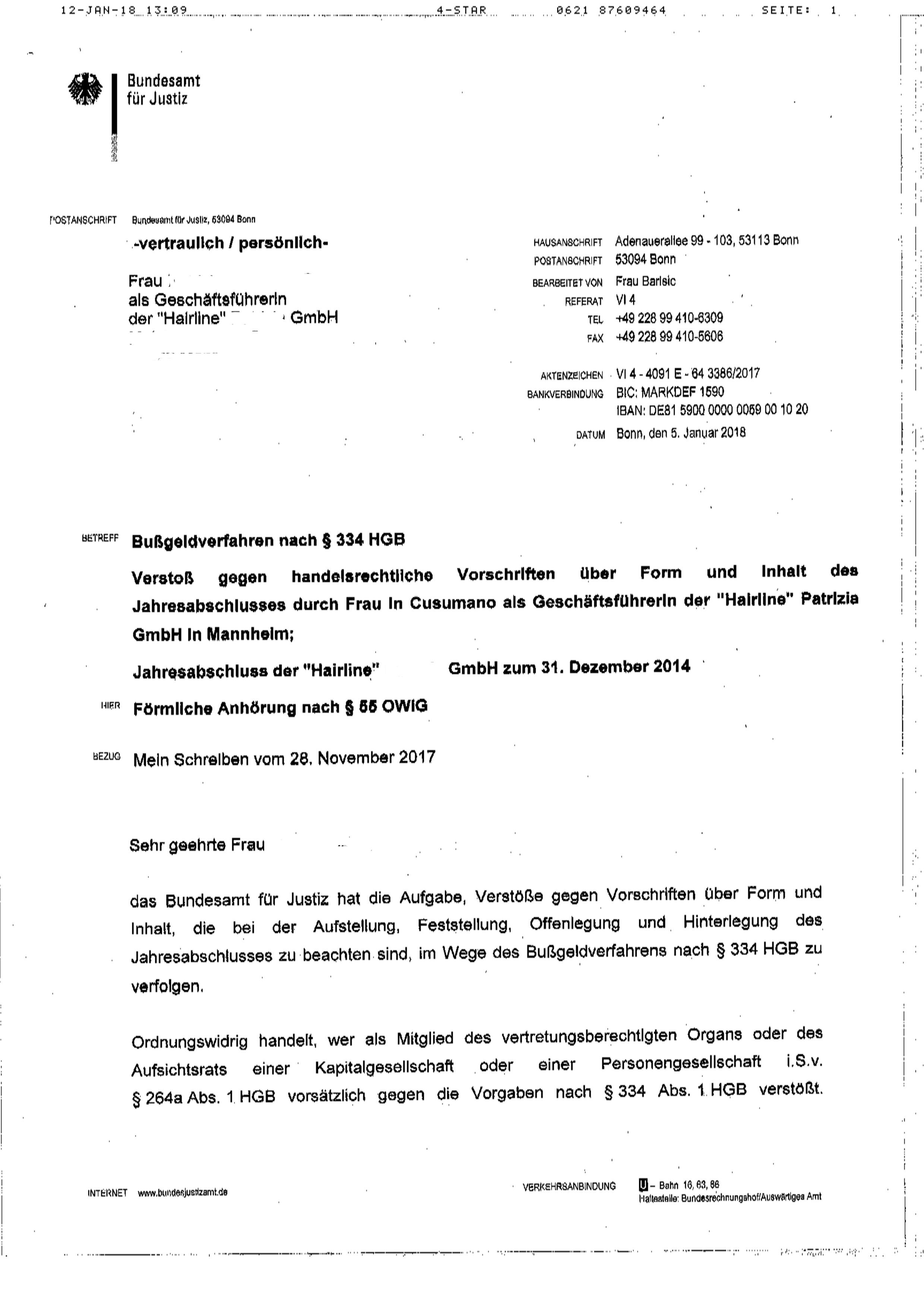 2018-01-05 - Schreiben Bundesamt wg. Strafeinleitung-page1