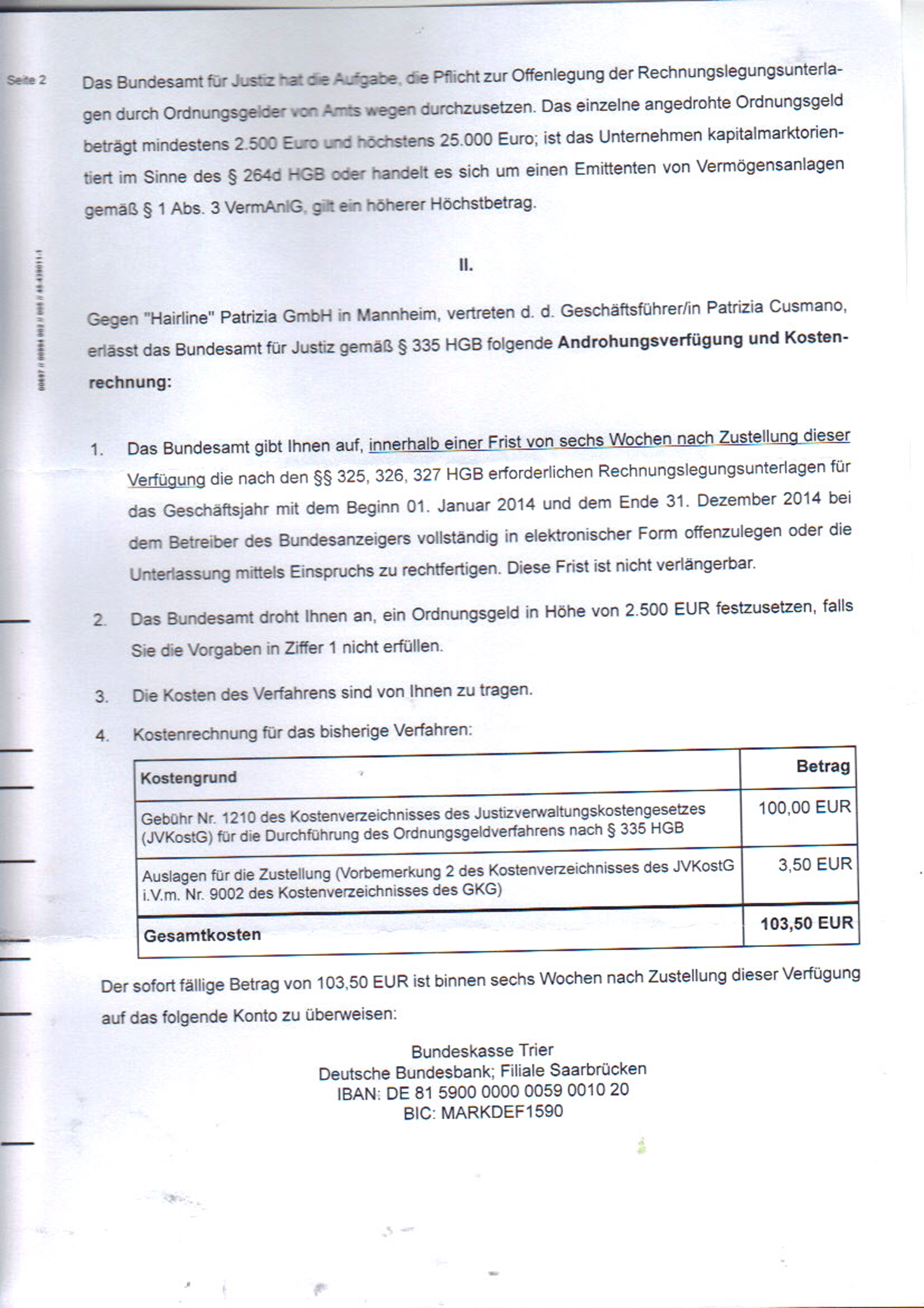 2016-10-14 - Androhung Ordnungsgeld-page2