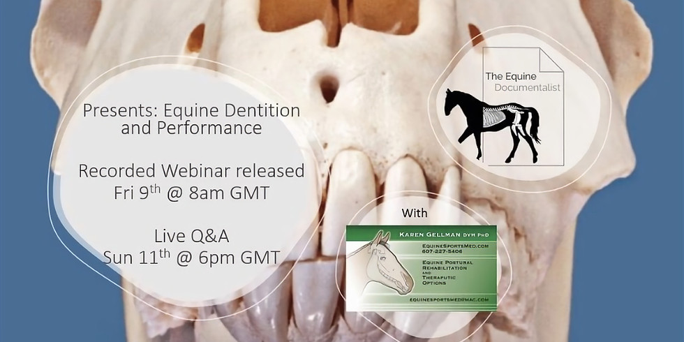 Equine Dentition and performance