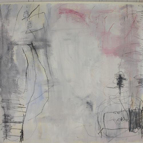 154 x 168 cm  tinta óleo, giz pastel seco e oleoso sobre papel