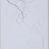 27 x 35 cm  lápis dermatográfico e carvão sobre papel