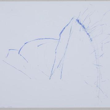 35 x 27 cm  giz pastel sobre papel