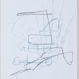 27 x 35 cm  giz pastel e lápis conté sobre papel
