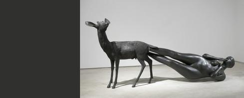 kiki-smith. Born. bronze. 2002.jpg