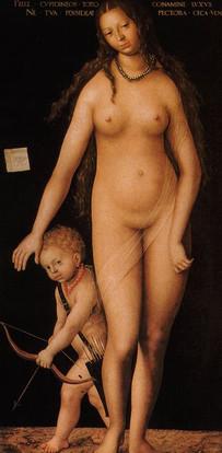4.Lucas Cranach l'Ancien-Vénus et Cupido