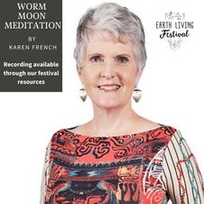 Worm Moon Meditation with Karen