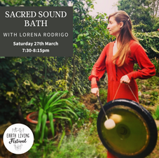 Sound bath with Lorena