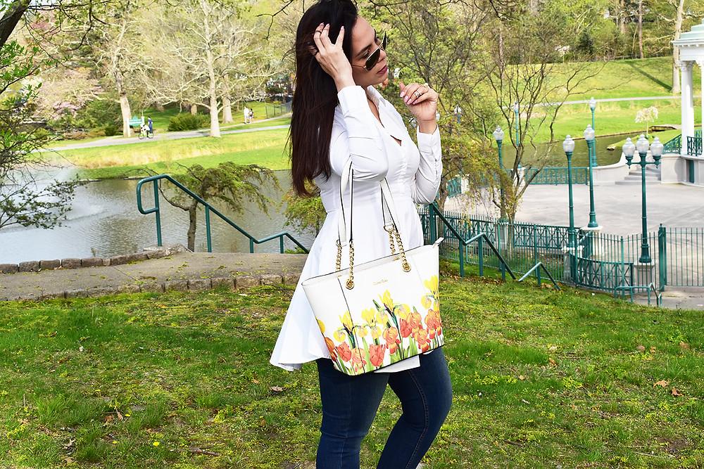 Calving Klein bag
