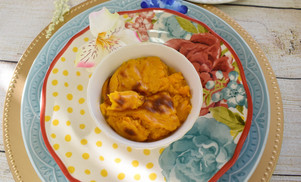 Soufflé de zanahorias y queso manchego