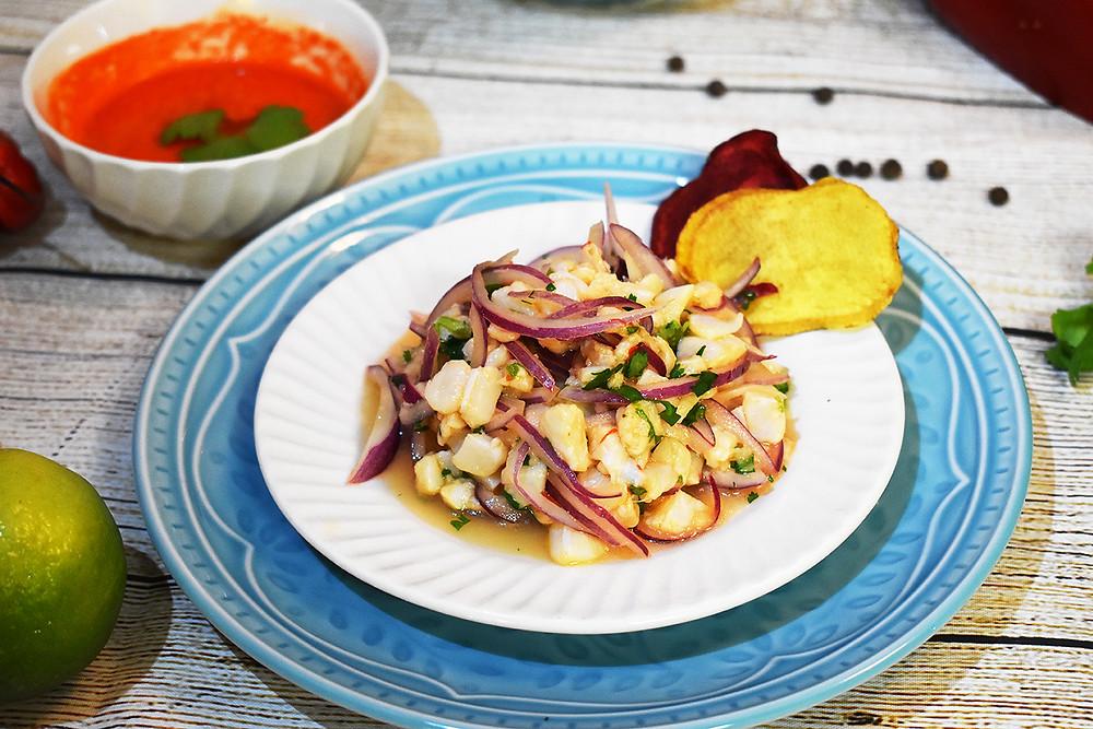 Ceviche peruano