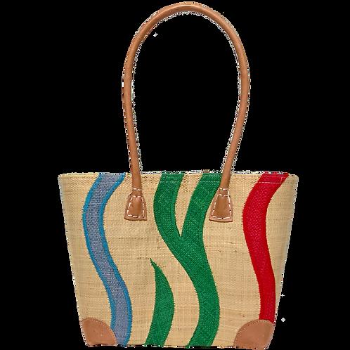 トートバッグ・ブランチ&グラス刺繍/S