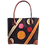 Thumbnail: トートバッグ・サークル&ストライプ刺繍 / S