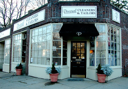 Personal Cleaners & Tailors' shop in Lexington, MA