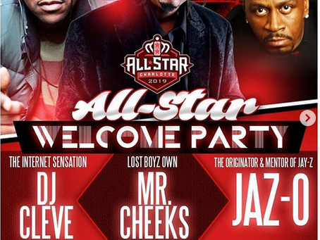 Jaz-O in Charlotte All-Star Weekend Vibrations