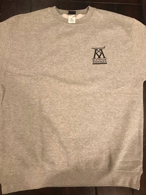 Kingz Kounty Crewneck Sweatshirt | Heater Gray