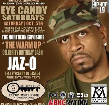 Jaz-O Celebrity Birthday Bash in Atlanta at 2 Chainz Club Members Only