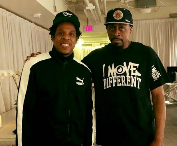 Jaz-O & Jay-Z photo