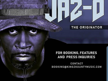 Jaz-O is available for Booking + Press + Features