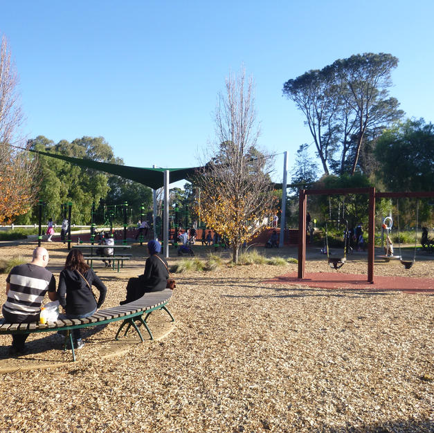 Warringal Parklands Regional Family Playspace
