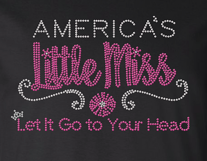 America's Little Miss State T-shirt