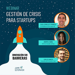 Webinar: Gestión de Crisis para Startups 🚀