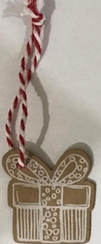 6. Parcel gift tag