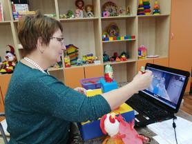 Об организации реабилитационной работы с детьми в дистанционном формате